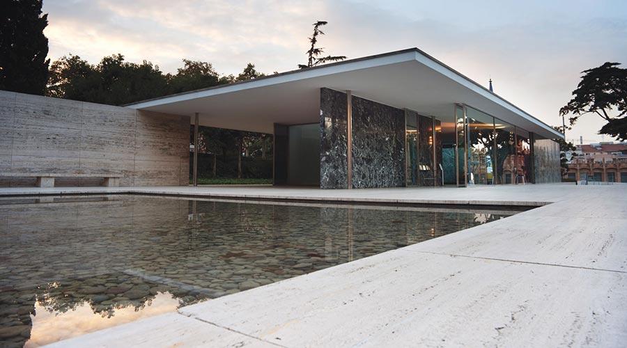 Movemagazine - Archiviaggiando - Il padiglione di Mies