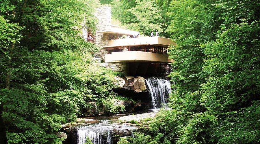 La casa sulla cascata move magazine for Frank lloyd wright casa della prateria