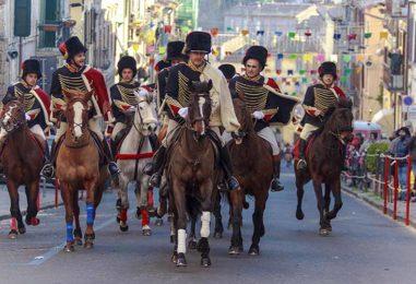 Carnevale Storico di Ronciglione: carri, maschere, Nasi Rossi e antiche tradizioni