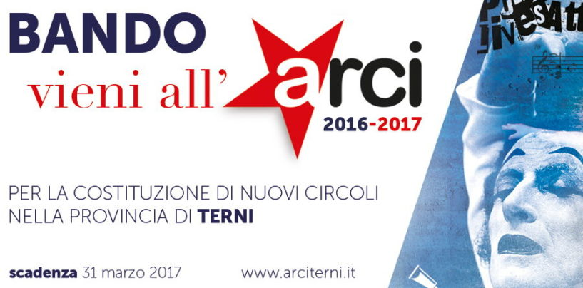 Vieni all'Arci – Bando
