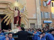 Processione del Cristo Risorto, Tarquinia celebra la Pasqua