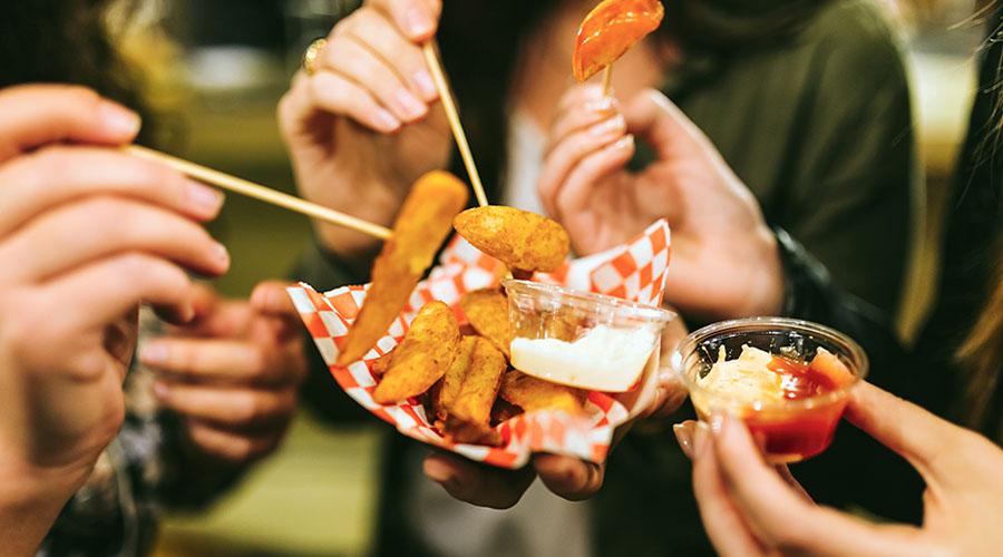 street food cibo da strada truck