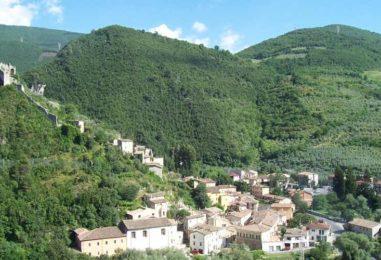 Trekking in Umbria a gennaio