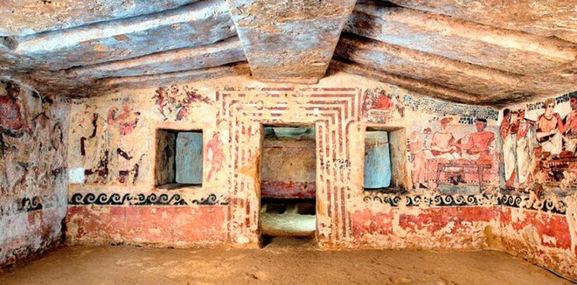Visite alla Tomba degli Scudi di Tarquinia