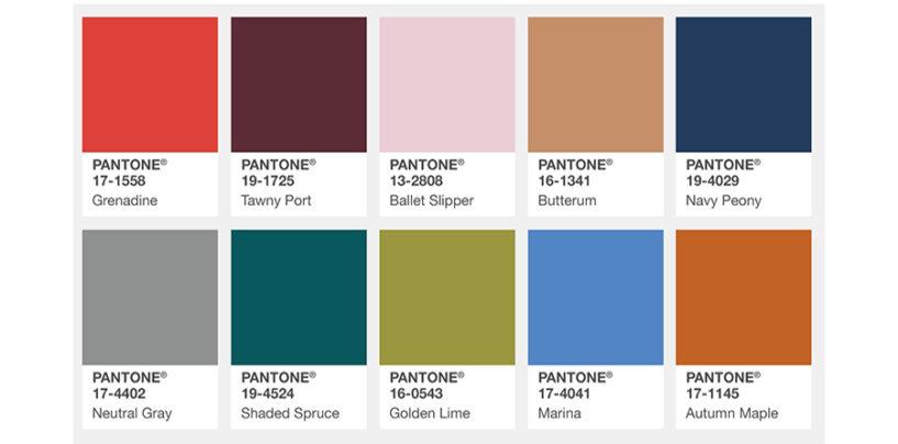 Pantone, Pantone, Pantone…