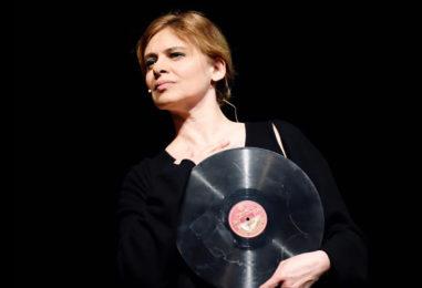 "Debora Caprioglio in scena a Bagnoregio in ""Callas d'incanto"""