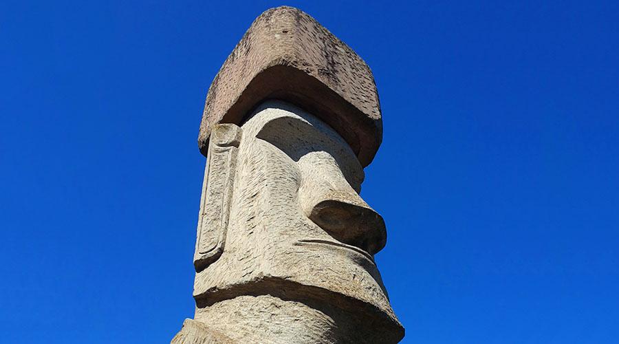 moai vitorchiano italia tuscia
