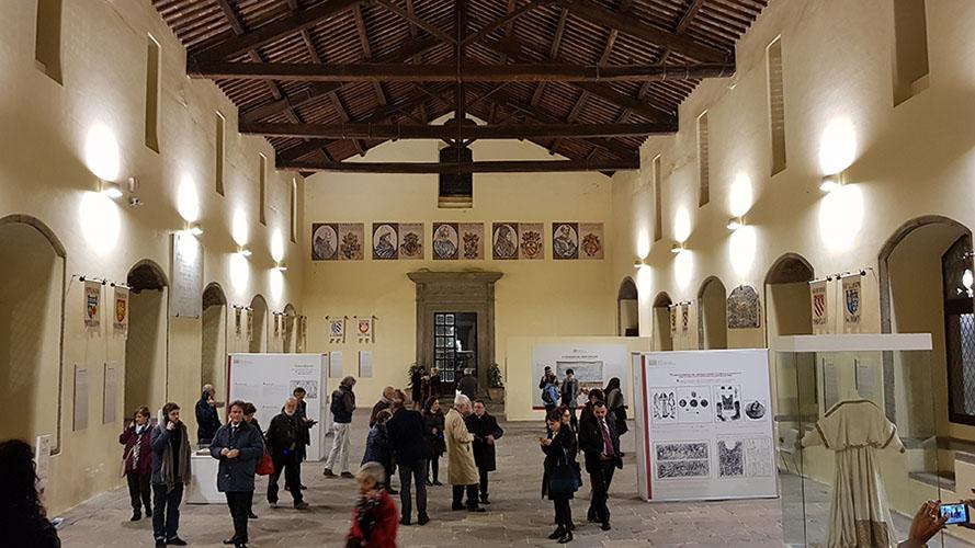 Sala Conclave Colle del Duomo Palazzo dei Papi Viterbo