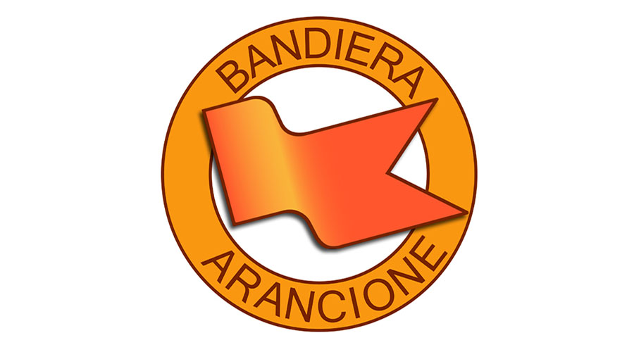 bandiere arancioni