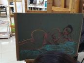 Disegno del nudo dal vero, proseguono le lezioni di Next