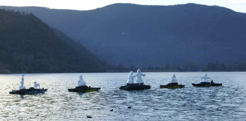 Presepe sul Lago di Piediluco