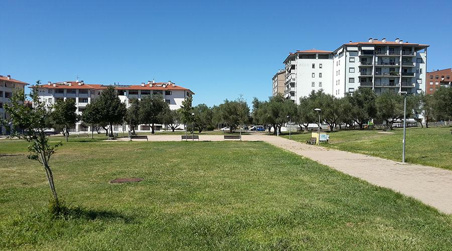 Viterbo periferia quartiere Santa Barbara