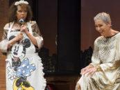 Claudia Cardinale al Teatro dell'Unione
