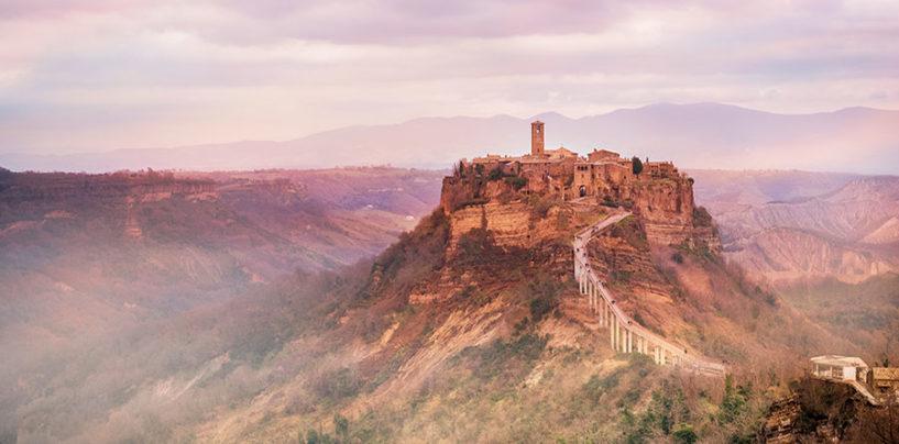 """""""Civita in tutti i sensi"""", il progetto turistico di PromoTuscia per Civita di Bagnoregio"""