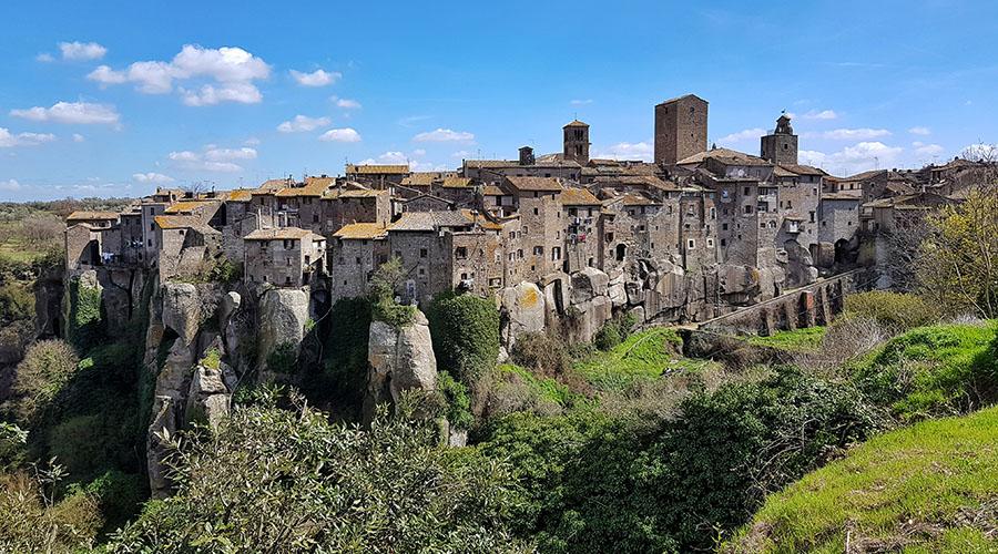 vitorchiano borgo medioevale medievale