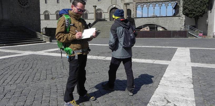 """""""La mia Francigena"""", il cammino di Stefano Mecorio in ricordo di Andrea Arena"""