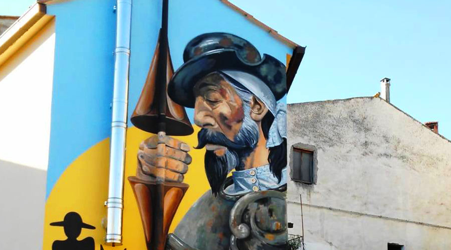 Don Chisciotte a Sant'Angelo