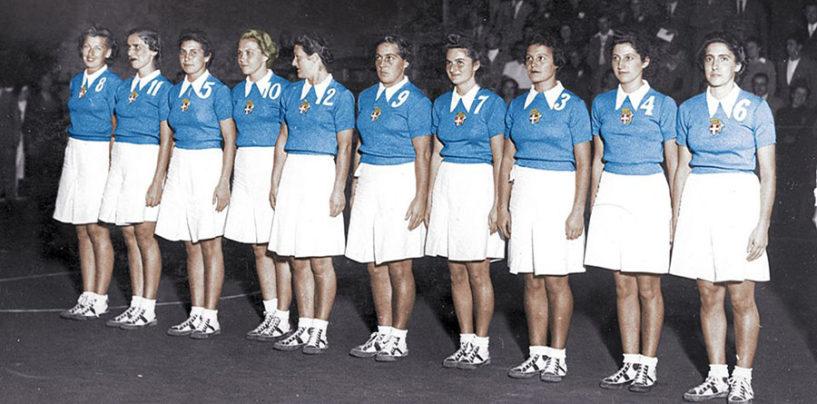 Basket femminile, una mostra celebra l'Italia campione d'Europa 1938