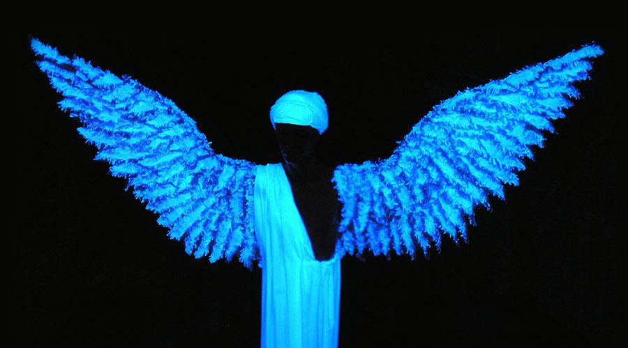 angelo presepe nel pozzo della cava orvieto