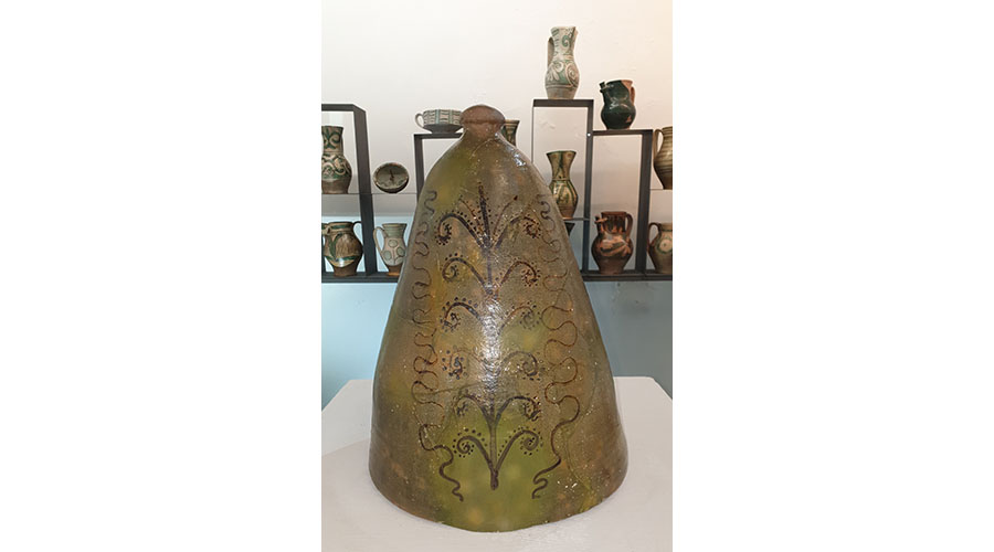 campana da fornace Museo della Ceramica della Tuscia