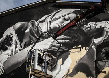 """""""Pubblica"""", al via a Gallese il progetto di residenza d'arte urbana"""