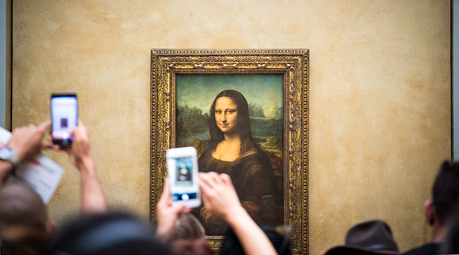 Artist Rating arte gioconda smartphone
