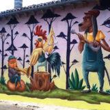 6 nuovi murales a Sant'Angelo di Roccalvecce, il paese delle fiabe