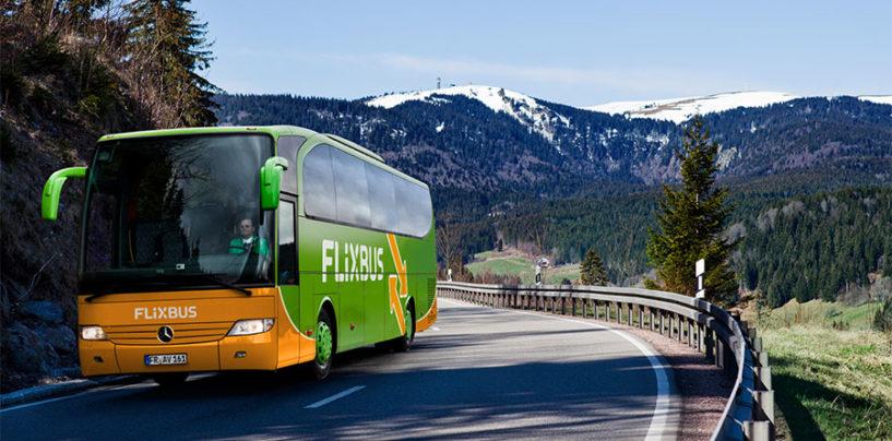 FlixBus, dal 2 dicembre cinque nuove destinazioni da Terni