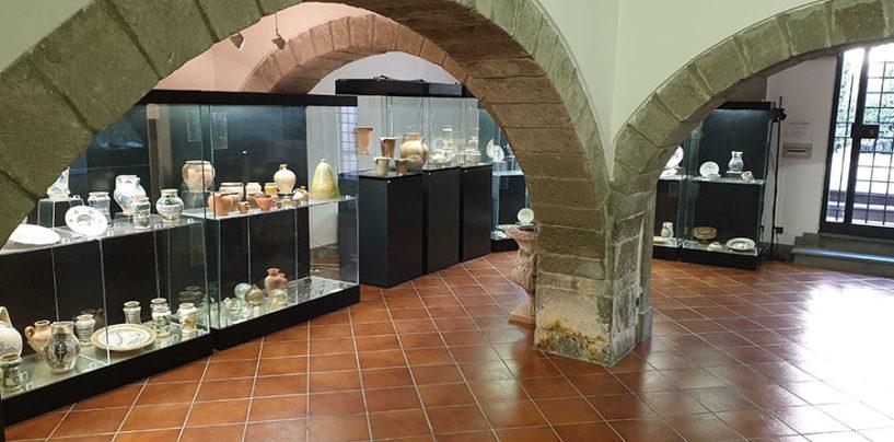 Viterbo, riaprono Museo della Ceramica della Tuscia e Palazzo Brugiotti