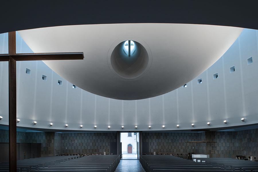 vittorio gregotti bergamo san massimiliano kolbe