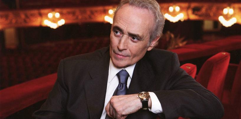 Josè Carreras presidente di giuria dell'8° Premio Fausto Ricci di Viterbo