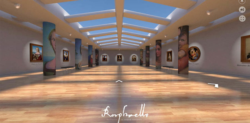 """""""Raffaello VR"""", il museo virtuale di Skylab Studios arriva su BricksLab"""