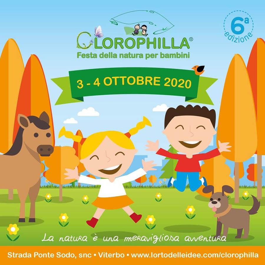 clorophilla festa natura bambini 2020 viterbo
