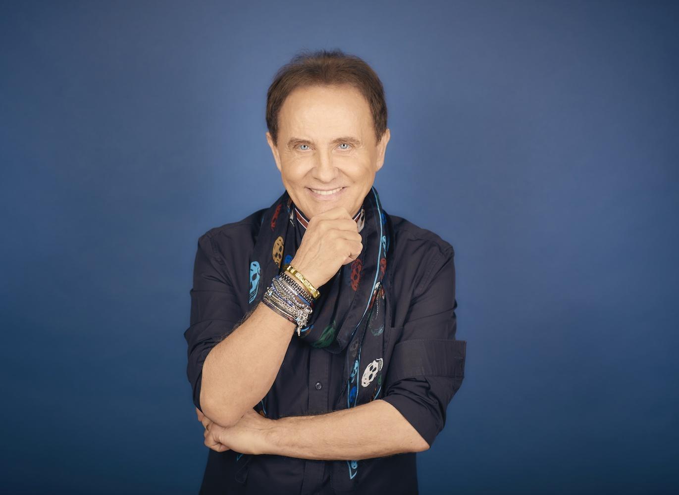 Il cantautore Roby Facchinetti