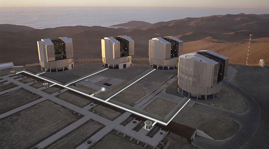 astronomia osservatorio astronomico cile