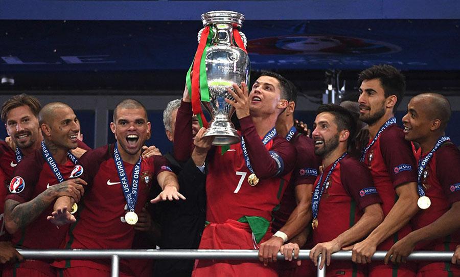 Cristiano Ronaldo e la finale del 2016