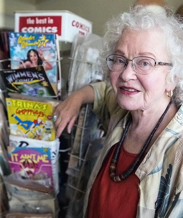 women in comics trina robbins