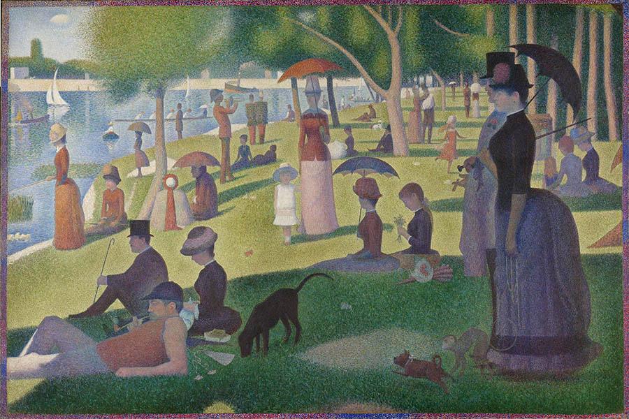 georges seurat grande jatte i 100 dipinti che sconvolsero il mondo