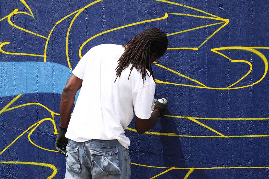 quattordio urban art street