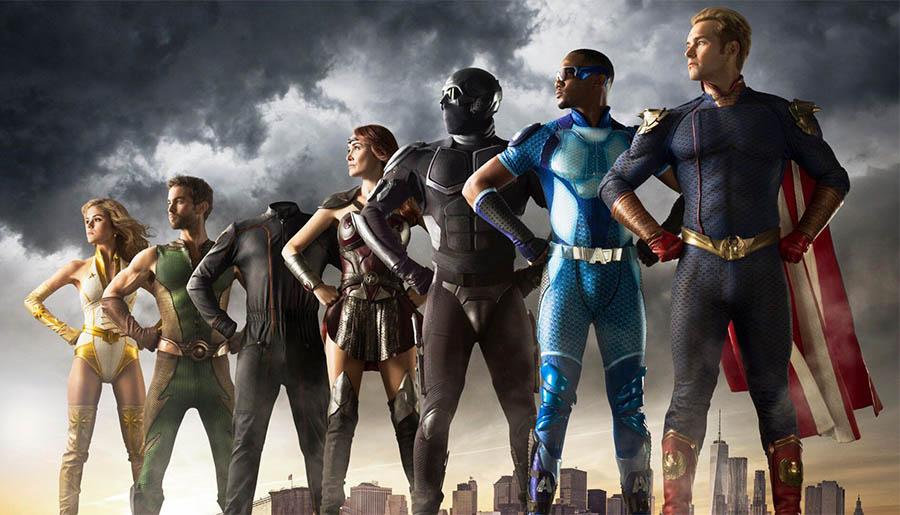the boys supereroi