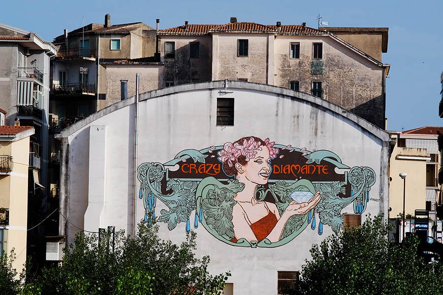 Diamante Murales 40, street art in Calabria