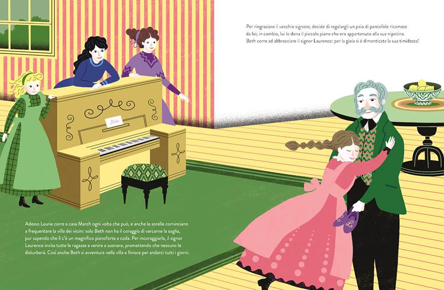 Piccole Donne in versione illustrata da Valeria Petrone