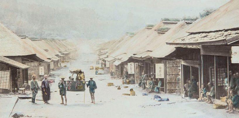 Capolavori fotografici dell'Ottocento dal Giappone