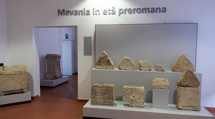 Museo Civico di Bevagna, la nuova sezione archeologica