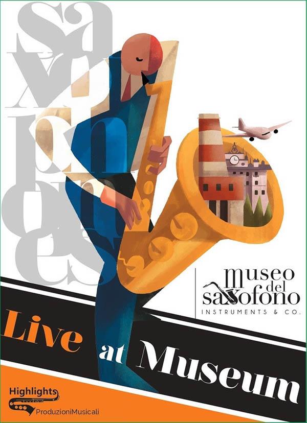 live at museum museo del saxofono fiumicino