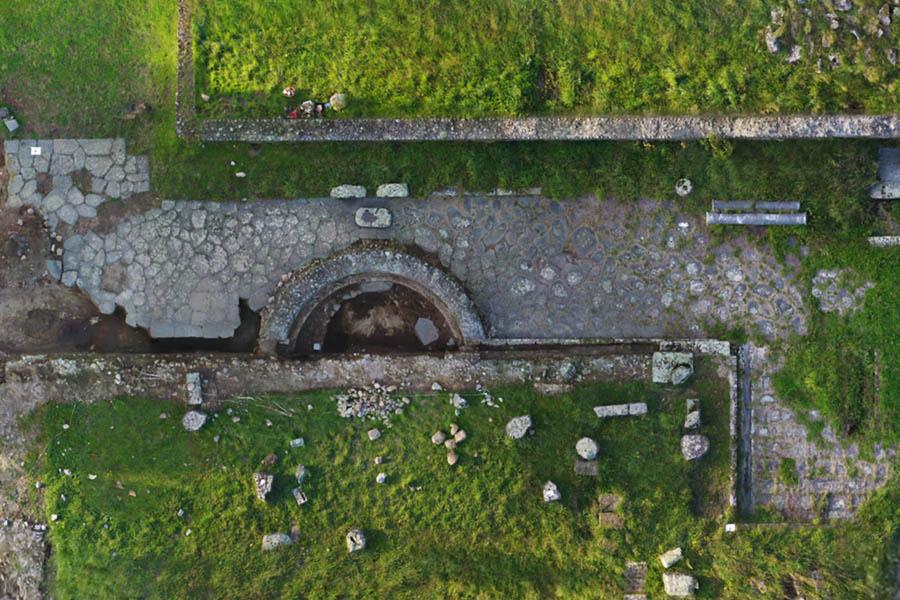 Gli scavi archeologici dell'antica città romana di Volsinii