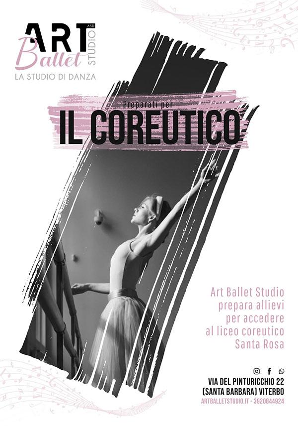 art ballet studio liceo coreutico danza